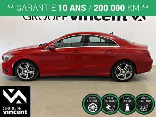 Used 2014 Mercedes-Benz CLA-Class CLA 250 ** GARANTIE 10 ANS ** Offrez-vous une allemande à prix abordable! for sale in Shawinigan, QC
