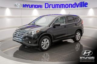 Used 2013 Honda CR-V EX AWD + GARANTIE + TOIT + CAMÉRA + WOW for sale in Drummondville, QC