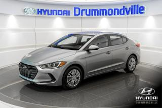 Used 2017 Hyundai Elantra L + GARANTIE + 27 648 KM + SIEGES CHAUFF for sale in Drummondville, QC