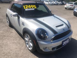 Used 2012 MINI Cooper Convertible S Highgate Edition for sale in St Catharines, ON