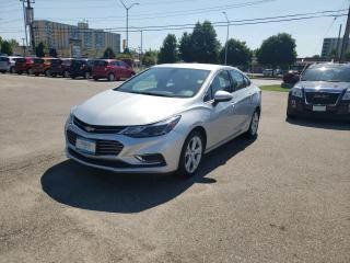 Used 2018 Chevrolet Cruze Premier Auto for sale in London, ON