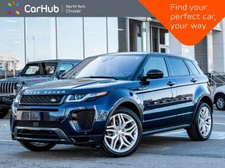 Used 2019 Land Rover Evoque HSE Dynamic 286hp Meridian Panoramic Roof for sale in Thornhill, ON