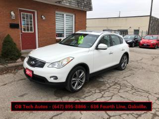 Used 2011 Infiniti EX35 AWD 4DR for sale in Oakville, ON