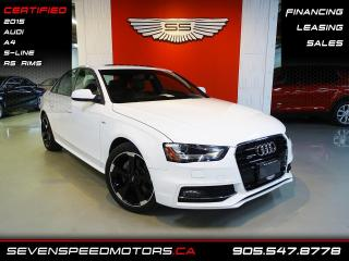 Used 2015 Audi A4 A4 S-LINE QUATTRO  | ACCIDENT FREE | CERTIFIED | FINANCE @ 4.65% for sale in Oakville, ON