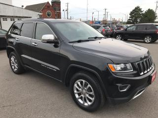 Used 2015 Jeep Grand Cherokee Limited ** BACKUP CAM, AUTOSTART , HTD LEATH ** for sale in St Catharines, ON