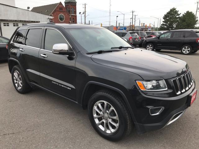 2015 Jeep Grand Cherokee Limited ** BACKUP CAM, AUTOSTART , HTD LEATH **