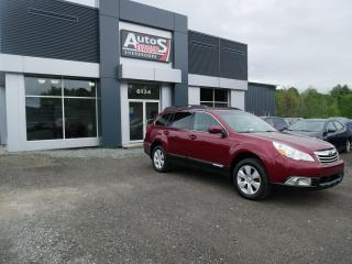 Used 2012 Subaru Outback 2.5i AWD + INSPECTÉ for sale in Sherbrooke, QC