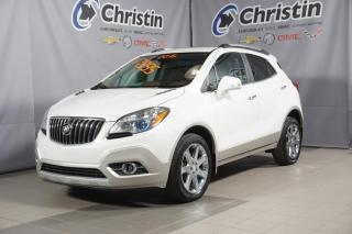 Used 2016 Buick Encore CXL AWD CUIR SUNROOF NAVIGATION BLANC DIAMANT for sale in Montréal, QC