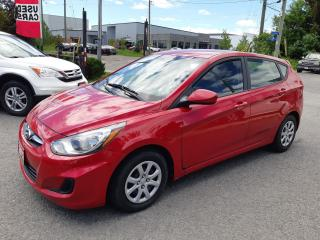 Used 2012 Hyundai Accent GL, AUTO, A/C, POWER GROUP, ACCIDENT FREE, 95KM for sale in Ottawa, ON