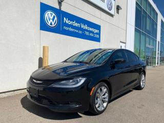 Used 2015 Chrysler 200 S - LOADED - HEATED SEATS / BLUETOOTH for sale in Edmonton, AB
