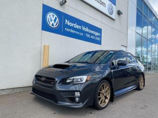 Used 2017 Subaru WRX STI SPORT TECH M/T for sale in Edmonton, AB