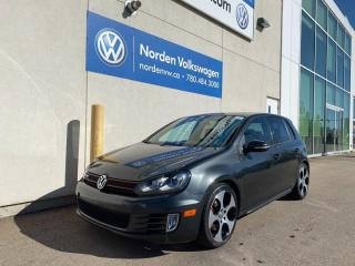 Used 2010 Volkswagen Golf GTI 5DR HATCH - LEATHER / SUNROOF for sale in Edmonton, AB