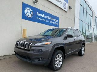 Used 2014 Jeep Cherokee NORTH 4WD - SUNROOF / BACKUP CAM for sale in Edmonton, AB