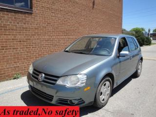 Used 2009 Volkswagen City Golf Manual for sale in Oakville, ON