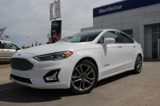 Used 2019 Ford Fusion Hybrid TITANIUM/HYBRID/LEATHER/SUNROOF/NAV/BACKUPCAM for sale in Edmonton, AB