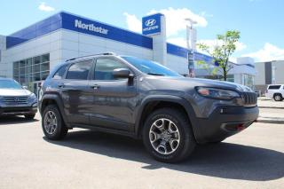 Used 2020 Jeep Cherokee TRAILHAWK/4X4/APPLECARPLAY/BACKUPCAMERA for sale in Edmonton, AB