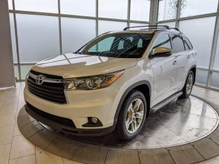 Used 2015 Toyota Highlander Limited - One Owner! Accident Free Carfax! for sale in Edmonton, AB