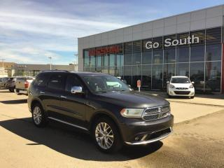 Used 2014 Dodge Durango CITADEL, AWD, LEATHER, NAVIGATION for sale in Edmonton, AB