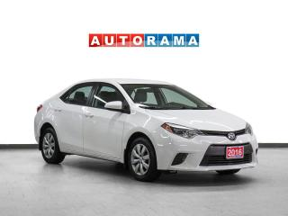 Used 2016 Toyota Corolla LE BACKUP CAMERA HEATED SEATS for sale in Toronto, ON