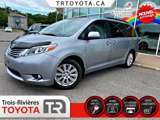 Used 2017 Toyota Sienna XLE 7 places 5 portes AWD for sale in Trois-Rivières, QC