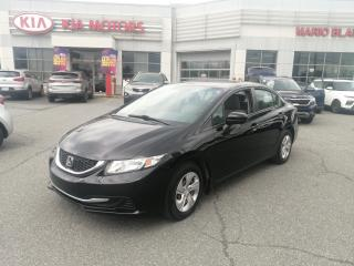 Used 2015 Honda Civic LX CAMERA DE RECULE** SIÈGE  CHAUFFANT for sale in Mcmasterville, QC