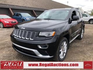 Used 2015 Jeep Grand Cherokee Summit 4D Utility 4WD 3.6L for sale in Calgary, AB
