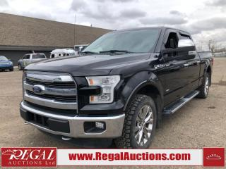 Used 2015 Ford F-150 Lariat 4D SUPERCREW LWB 4WD 3.5L for sale in Calgary, AB