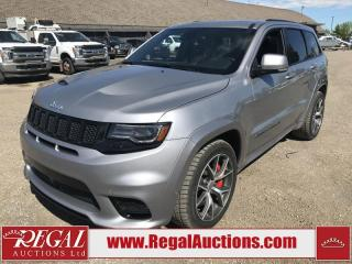 Used 2017 Jeep Grand Cherokee SRT 4D UTILITY 4WD for sale in Calgary, AB