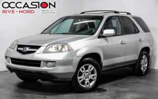 Used 2004 Acura MDX 4x4 Cuir-Toit for sale in Boisbriand, QC