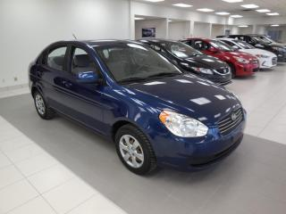 Used 2011 Hyundai Accent 2011 GL AUTO A/C CRUISE GROUPE ÉLECTRIQU for sale in Dorval, QC