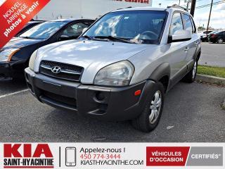 Used 2006 Hyundai Tucson GL V6 ** GR ÉLECTRIQUE + A/C for sale in St-Hyacinthe, QC
