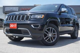 Used 2017 Jeep Grand Cherokee Limited | 8.4in | PWR LIFTGATE for sale in Listowel, ON