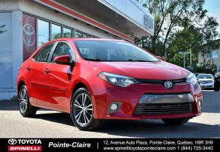 Used 2016 Toyota Corolla LE UPGRADE MAGS, TOIT, SIÈGES CHAUFFANTS for sale in Pointe-Claire, QC