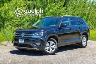 Used 2019 Volkswagen Atlas Comfortline Heated Seats & Wheel, Blind Spot Monitor, SXM for sale in Guelph, ON
