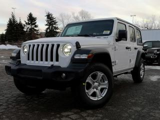 New 2020 Jeep Wrangler Unlimited Sport S for sale in Waterloo, ON