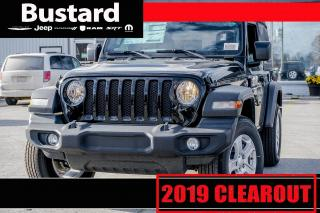 New 2019 Jeep Wrangler Sport S | 4WD | KEYLESS ENTRY | BLUETOOTH for sale in Waterloo, ON