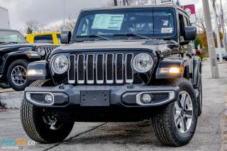New 2020 Jeep Wrangler Unlimited Sahara for sale in Waterloo, ON