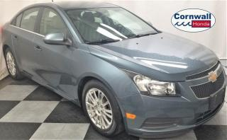 Used 2012 Chevrolet Cruze Eco Tech 4-Cyl, Manual Transmission for sale in Cornwall, ON