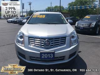 Used 2013 Cadillac SRX LEATHER COLLECTIO  - Low Mileage for sale in St Catharines, ON