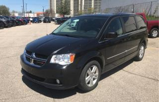 Used 2016 Dodge Grand Caravan CREW | NAVI | POWER DOORS | HEATED SEATS for sale in Waterloo, ON
