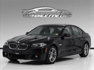Used 2016 BMW 5 Series 528i xDrive, M-Sport, Navi, HUD, 360Cam, Fully Loaded for sale in Concord, ON