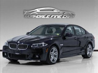 Used 2016 BMW 5 Series 535i xDrive, M-Sport, HUD, Navi, 360 Cam, Must See for sale in Concord, ON