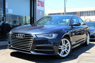 Used 2016 Audi A6 3.0T Quattro Navi, Roof, Leather, Fully Loaded for sale in North York, ON