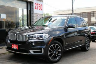 Used 2017 BMW X5 35i xDrive, Navi, 7 Pass, DVD, Cam, PanoRoof, Loaded for sale in North York, ON