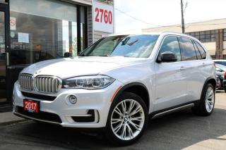 Used 2016 BMW X5 35i xDrive, Individual Pkg, Navi, Cam, HUD, Loaded for sale in North York, ON