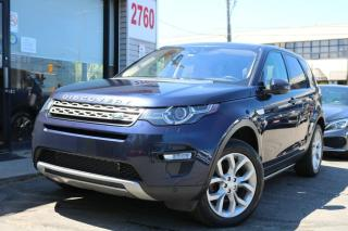Used 2017 Land Rover Discovery Sport HSE AWD, Navi, Cam, Roof, Leather, No Accidents for sale in North York, ON