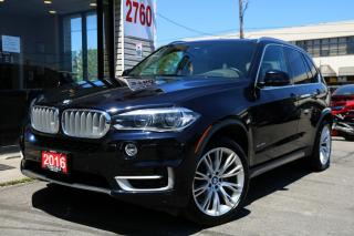 Used 2016 BMW X5 xDrive35i, Individual Pkg, Navi, 360Cam, HUD, Lane Departure for sale in North York, ON
