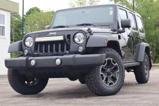 Used 2015 Jeep Wrangler Unlimited RUBICON | LEATHER | AUTO | HEATED SEATS for sale in Waterloo, ON