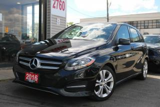 Used 2016 Mercedes-Benz B-Class B250 4M, Navi, PanoRoof, Camera, Alloy Rims, Clean for sale in North York, ON