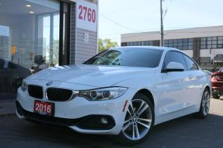 Used 2016 BMW 4 Series 428i xDrive, Red INT, Navi, Camera, Very Clean, No Accident for sale in North York, ON